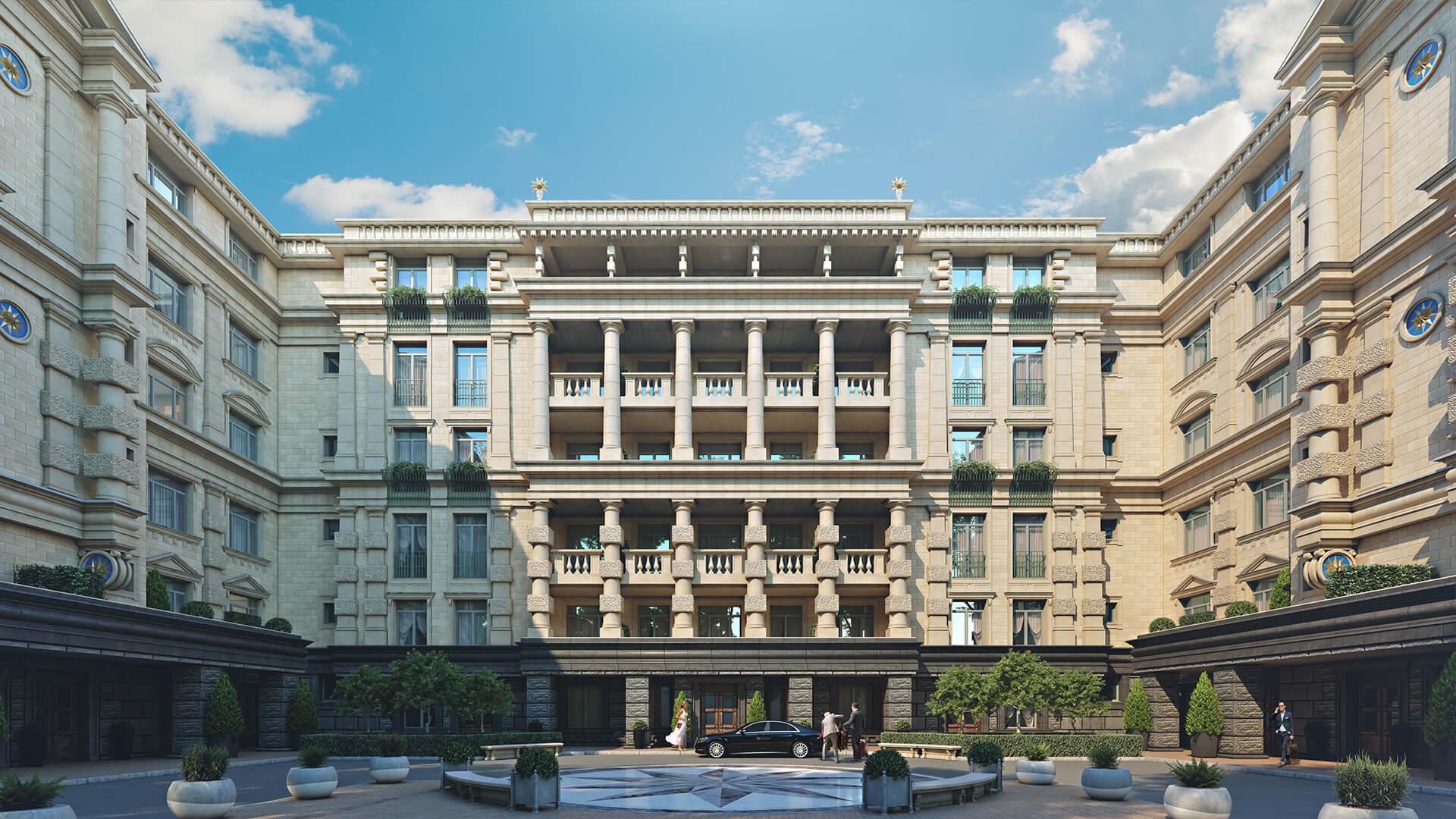 Симметрия фасада