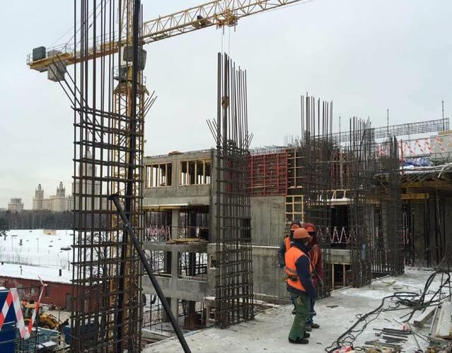 ход строительства, ноябрь 2016 г.